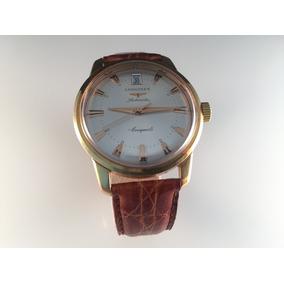 Reloj Longines Conquest De Oro Amarillo 18kt,automático