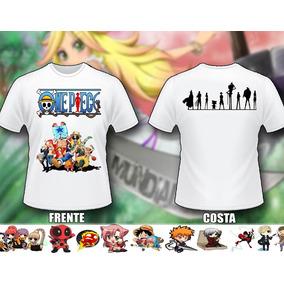 Camisas One Piece - Camisa Masculino no Mercado Livre Brasil 242e3e6790d