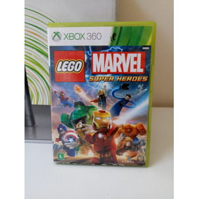 Lego Marvel Super Heroes Xbox 360 Frete R$ 12.