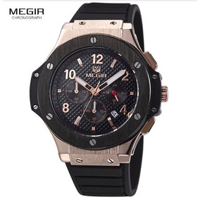 Relógio Megir Social Com Frete Grátis Super Diferente
