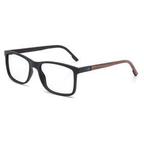 501c887dc Armação Oculos Grau Mormaii Pequim Wood M6067afo53 Preto Fos