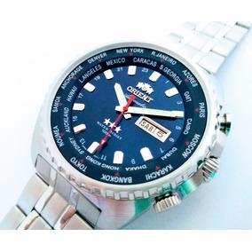 43f430813c9 Relógio Orient Automático Gmt 469ss057 Original Nf Garantia