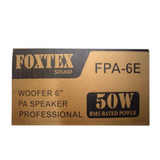 Parlante Woofers 6 Pulgadas - Marca Foxtex