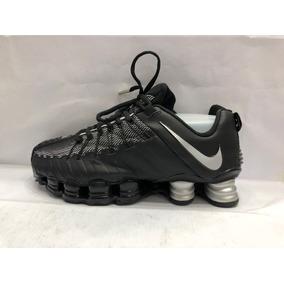 35afe636903 Nike 12 Molas Original 2016 Cinza E Laranja - Tênis Cinza escuro no ...