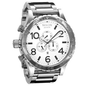 f7b8d312b9b Relogio Branco Nixon - Relógios De Pulso no Mercado Livre Brasil