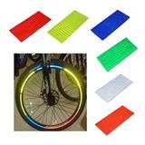 Adesivo Para Bicicleta Reflexivo Roda Aro Kit 5 Unidades
