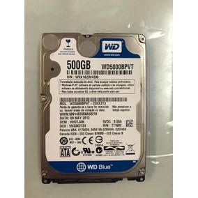 Hd Notebook 500gb Wester Digital Wd Blue