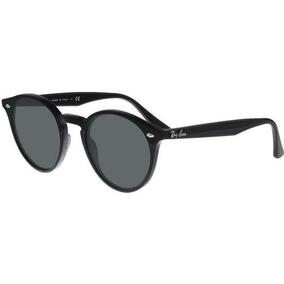 Óculos Sol Rb2180 Round Stylish Original Preto Lentes Pretas 1cfbb96963
