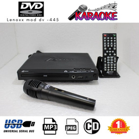 Dvd Fotos Lenoxx Karaoke Microfone Incluido Usb Mp3 Infra R