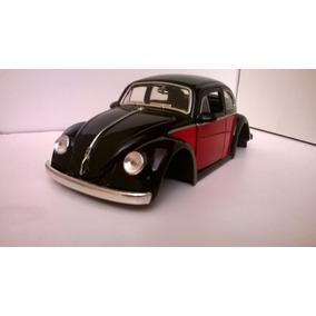Miniatura Fusca 1959 1:24 Jada Sem Rodas