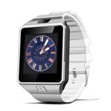Reloj Inteligente Plus Blanco Compatible Android Iphone 6