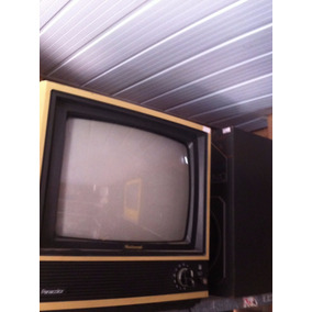 Tv Televisão National Panacolor Antiga Vintege Decoraçao