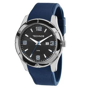 Relógio Technos 2115mks 8p Pulseira Silicone Original C/ Nf