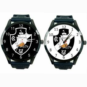 772bbfee625 Kit 2 Relógios Vasco Da Gama Masculino Barato Futebol T162