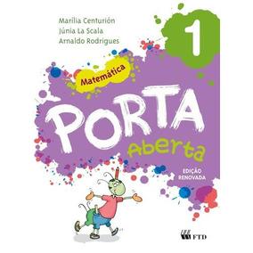 Livro Porta Aberta - Matemática 1 Ed. Renovada Ftd