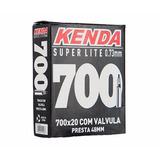 Câmara De Ar Kenda 700x20 Super Lite Com Válvula Presta 48mm