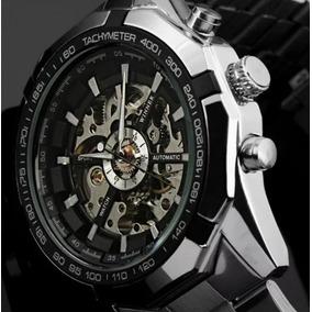 Relógio Importado Winner Skeleton Automático Oferta