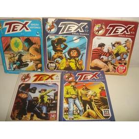 Lote C/ 5 Gibis Tex Edição Histórica - R$ 50,00