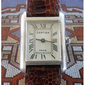 2bb9b2c73c8 Relogio Cartier Tank Paris A - Joias e Relógios no Mercado Livre Brasil