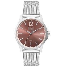 Relógio Dumont Feminino Du2035lvl/3t Prata Loja Autorizada