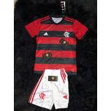 9e286e80bc874 Conjunto Uniforme Do Flamengo Oficial - Tamanho Infantil