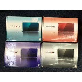 Caixa Para Nintendo 3ds Roxo, Vermelho Ou Rosa
