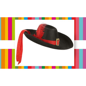 Gorro Mosquetero Cotillón Disfraz Halloween Cumpleaños Fdd. 2 vendidos -  Buenos Aires · Sombrero Mosquetero - Gato Con Botas - D´artagnan 3a1e5cb355a