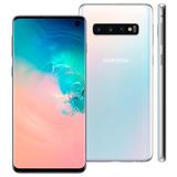 Samsung Galaxy S10 128gb Branco Lacrado Com Garantia E Nf