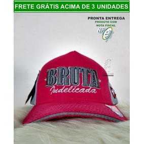 Bone Country Feminino Bruta - Bonés para Masculino no Mercado Livre ... eb6175c5163