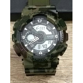 Relógio Masculino Militar Camuflado Digital Aprova D
