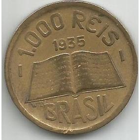 Egoto 156-moeda 1.000 Réis 1935 José Anchieta - Módulo Maior