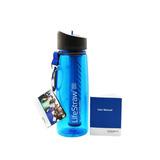 Lifestraw Garrafa Filtro De Água Portátil 650ml Camping Azul