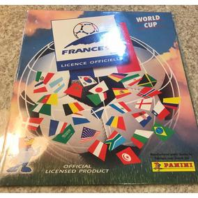 Raro Álbum De Figurinhas De Futebol Da Copa Da França 1998!