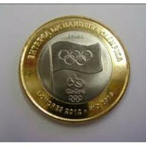 Moeda 1 Real, Bandeira Olímpica