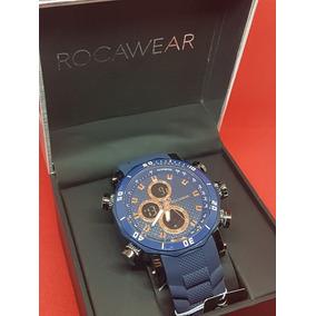 Reloj De Lujo Para Hombre Rocawear, Excelente Regalo Vip