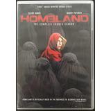 Dvd (4) Homeland Seria Cuarta Temporada Completa
