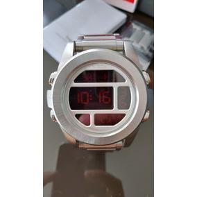 Nixon Unit Ss Silver Red Xa360 1263, Zero, Excelente Oportun