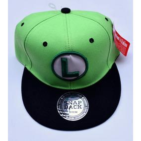 Gorras Negras Con Verde Planas Abajo - Ropa 52e61dfa290