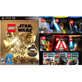 Lego Star Wars The Force Awakens + Season Pass Dlc ~ Ps3