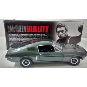 Ford Mustang Gt Bullitt 1968- 1:18-greenlight Steve Mc Queen