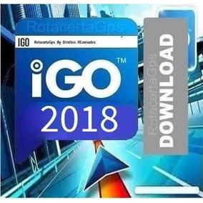 Atualização Gps Igo 2018 , Todas Polegadas Incluso.