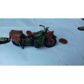 Moto Harley Davidson Militar Maisto 1/18 Perfeita - Mv4oo