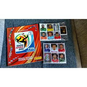 Álbum De Figurinhas Copa 2010, Completo + Visa + Extras.