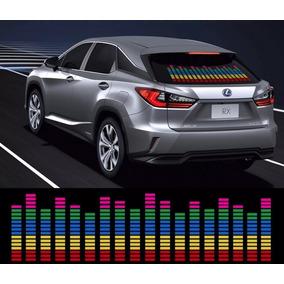 Adesivo Equalizador 12v 70x16cm Painel Led Carro V/cores