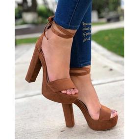 e0d8061e391a0 Sandalias De Tacon Grueso De Moda Zara - Zapatos en Mercado Libre ...