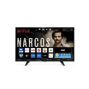 Smart Tv Led 39 Polegadas Aoc Wifi Hd Usb Hdmi