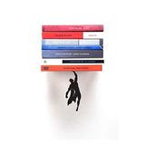 Superestante Estantería Oculta Flotante Para Libros