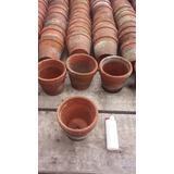 Macetas De Cerámica 8x8, Para Pintar, Cactus Y Ot. Plantas.
