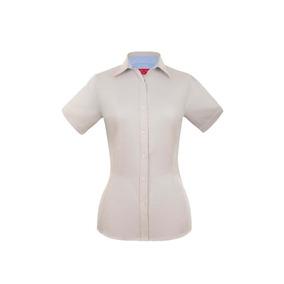 Camisa De Oficina Manga Corta 3xl Y 4xl Para Mujer