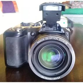 Camara Fotografica Semiprofesional Nikon Coolpix L10
